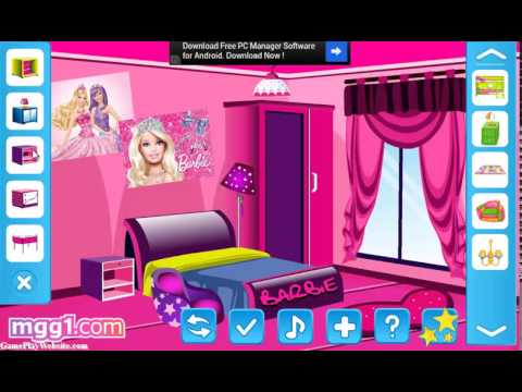 Barbie Fun Room Decoration Game Spielen
