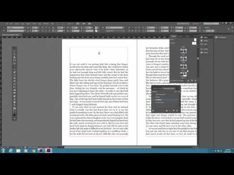 Lay Out a Print Book's Pages with InDesign CC 2017