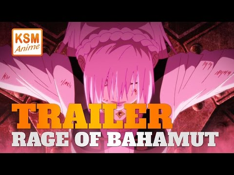 Rage of Bahamut: Genesis - Trailer auf KSM ANIME deutsch / german