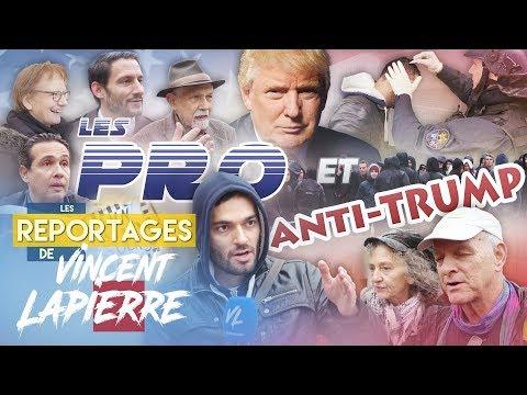 LES PRO ET ANTI-TRUMP – Les Reportages de Vincent Lapierre
