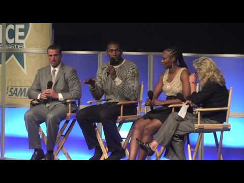 Metta World Peace and Chamique Holdsclaw talk about mental health issues
