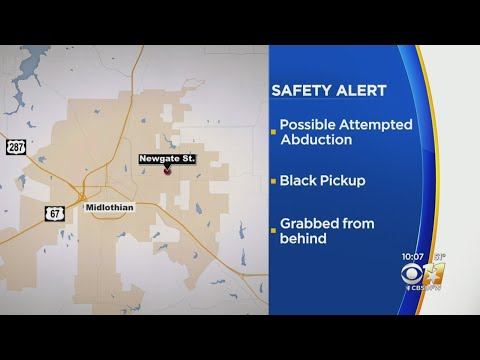 Midlothian Middle School Students Kicks Attempted Kidnapper In Groin, Gets Away, Police Say