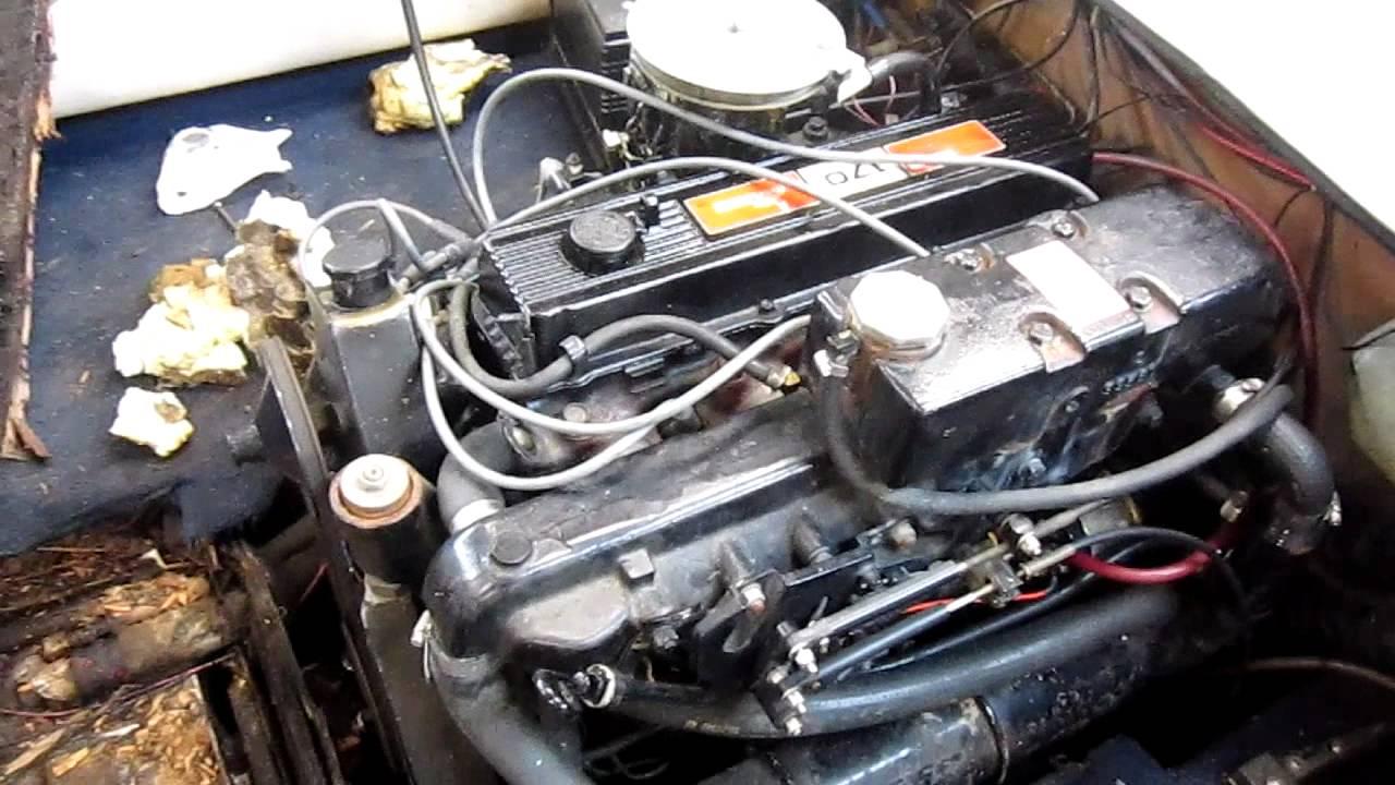 470 Mercruiser 170 HP 4 Cylinder Stern Drive At