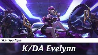 Skin Spotlight - Evelynn K/DA