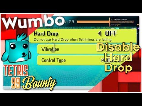 """Tetris 99 Bounty - """"No hard drops allowed"""""""