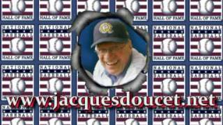 Votez Jacques Doucet Broadcaster Montreal Expos Ford C. Frick Award 2010 Baseball Hall of Fame