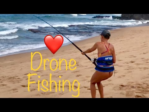 Gannet Drone Fishing With A DJI Phantom