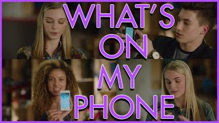 Backstage | What's On Your Phone with Alyssa Trask, Aviva, Josh Bogert & McKenzie Small