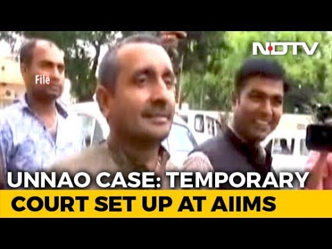Courtroom At AIIMS As Judge Hears Wounded Unnao Rape Survivor's Statement