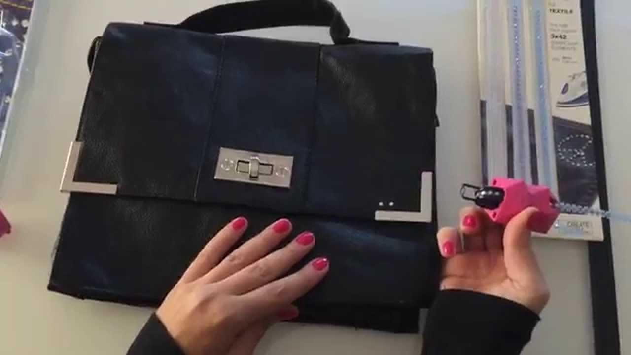 dipingere borse in pelle