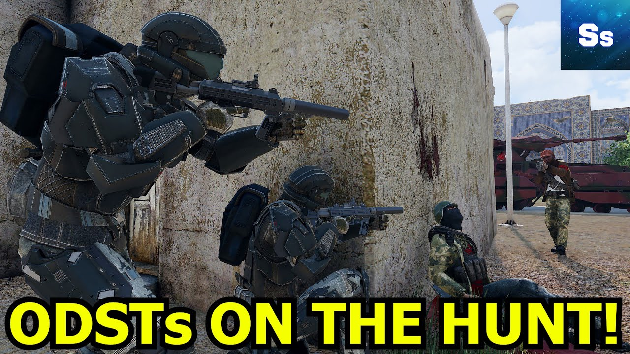 """""""ODSTs ON THE HUNT!"""" - Halo Arma 3 Zeus Operation"""