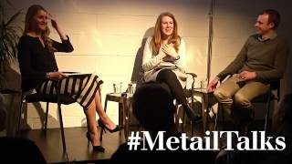 Kinvara Balfour moderates #MetailTalks 'How Can Technology Effect Positive Change?'