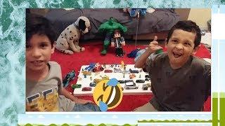 #kidsBrincando!!! Rhuan e seu TIO ryan MOMENTO RISADA.