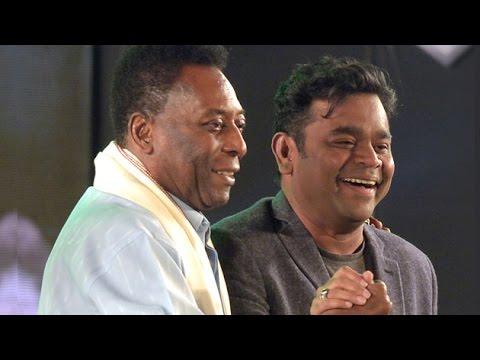 A.R. Rahman 'EXCITED' To Meet Pele In Kolkata