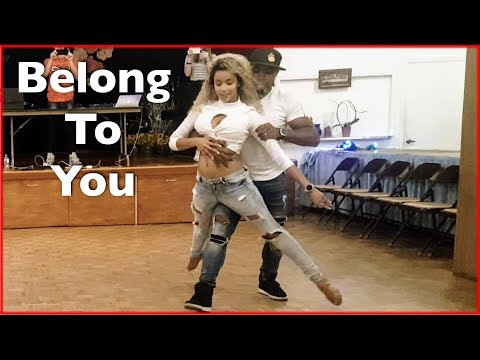 Sabrina Claudio - Belong To You Ft. 6lack Remix | Brazilian Zouk Dance | Carlos & Fernanda Da Silva