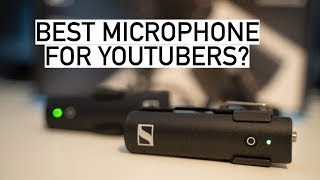 BEST MICROPHONE FOR YOUTUBERS!? Sennheiser XSW D Portable Lavalier Set REVIEW