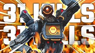 Diegosaurs - 31 KILL GAME WITH HAVOC - Rank 1 Apex Legends Player ft. Faith