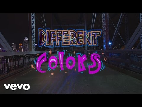 WALK THE MOON - Different Colors  Lyric