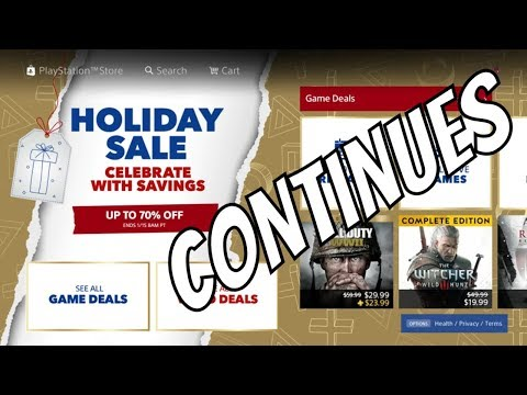 "PS4 Holiday Sale 2019 Continues with Big Sales on PSN ""Some New Deals"""