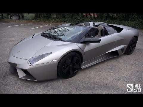 Lamborghini Reventon Roadster - Walkaround And Sound