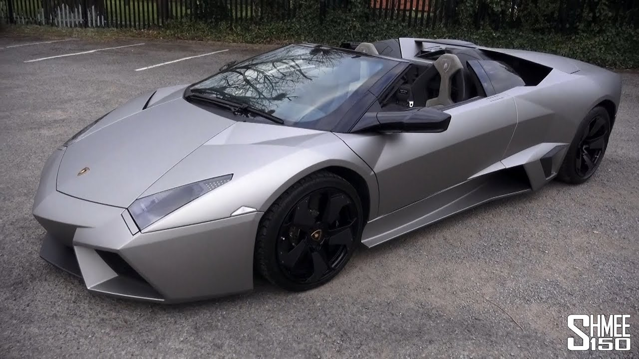 Lamborghini Reventon Roadster Walkaround And Sound Youtube