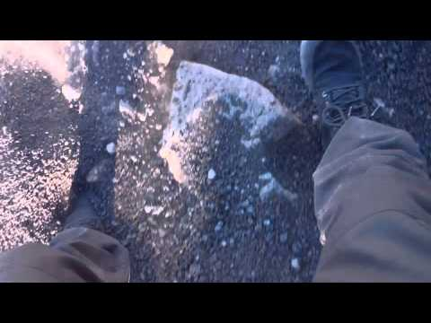 Running down Fogo Volcano with LemsShoes® boots, Cape Verde Africa #travel