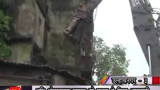 Knews Ulhasnagar : DEMOLITION OF ILLEGAL CONSTRUCTION BY UMC