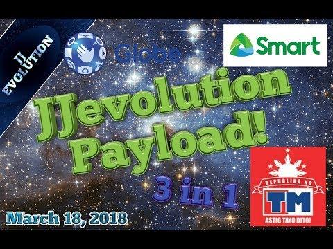 JJevolution Payload - Working and Fast - 3 in 1 - Globe/TM/Smart