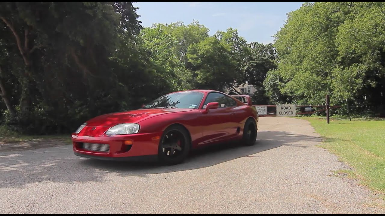 toyota supra review single turbo 575 hp youtube. Black Bedroom Furniture Sets. Home Design Ideas