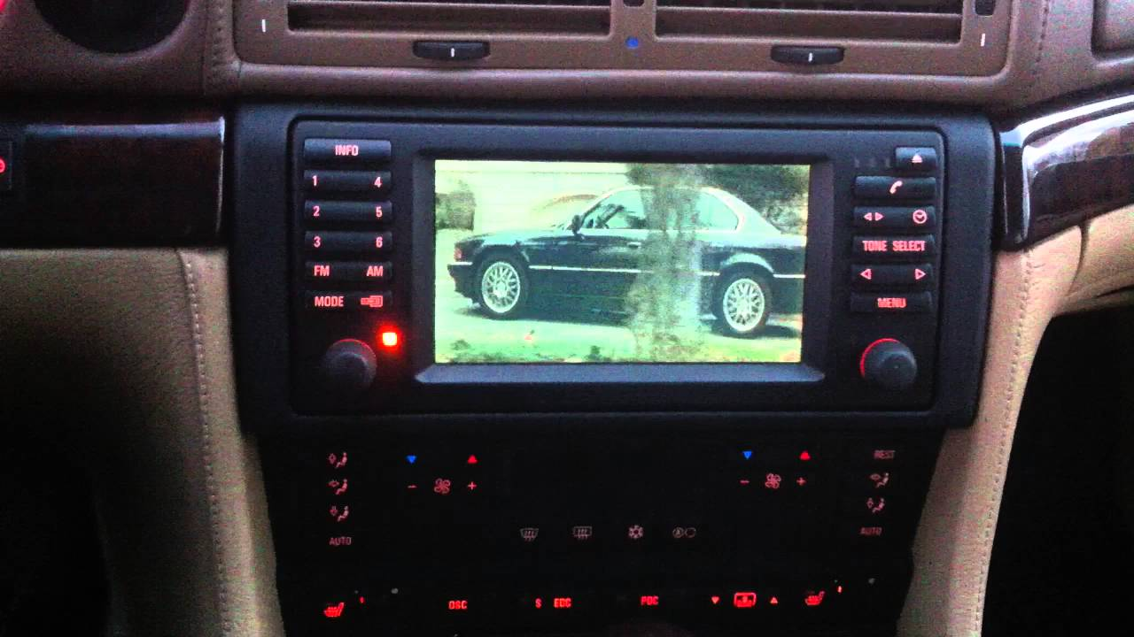 film transporter bmw e38 mura dvbt tuver - YouTube