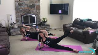 Empower Long amp Lean Bar workout at home