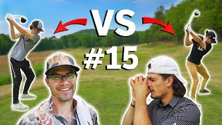 Does Garrett Win 2 Matches In A Row!? | With Caddies | Sunday Match #15 | Garrett VS Micah