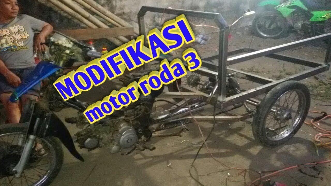 MODIFIKASI MOTOR RODA TIGA #poerjoyo99