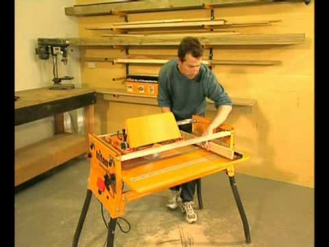Triton WCA201 Series 2000 Table Saw - Part 2