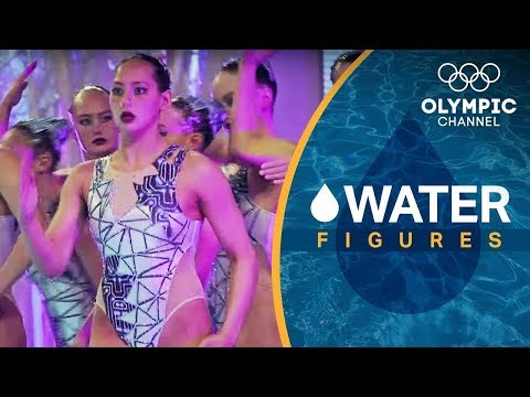 Team USA's Revolutionary Robot Artistic Swimming Routine | Water Figures