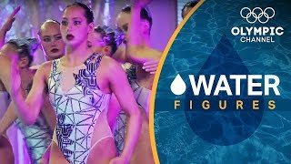 Team USA's Revolutionary Robot Artistic Swimming Routine   Water Figures