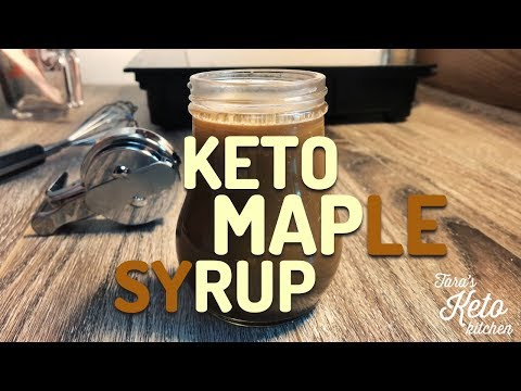 Homemade Keto Maple Syrup (Easy & Delicious!) Homemade Sugar Free Maple Syrup You'll Love!