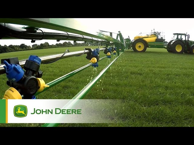John Deere PowrSpray - A Clean Solution