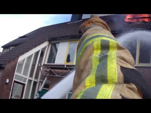 Brandweer Aalsmeer Prio 1 Woningbrand