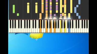 Little Anthony   tears on my pillow [Piano tutorial by Synthesia]