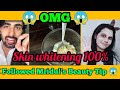 Testing Viral Beauty Tips 😱 By Tiktok King Mridul | skin whitening home remedy | The Indian Soul 😍