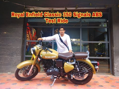 New 2018 Royal Enfield Classic 350 Signals ABS Test Ride Review