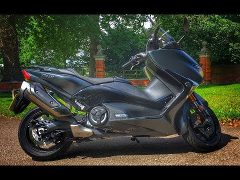 2017 Yamaha TMax DX Scooter Review