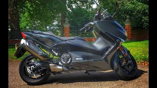 Video 2017 Yamaha TMax DX Scooter Review download MP3, 3GP, MP4, WEBM, AVI, FLV September 2018
