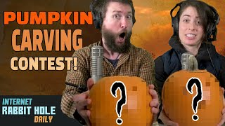 Couple's Pumpkin Carving Contest | irh daily HALLOWEEN CHALLENGE!
