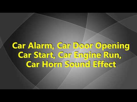 Sound effects car alarm funnydog tv for Door opening sound effect