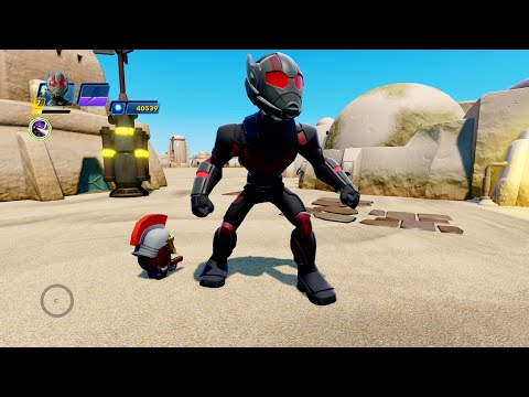 disney infinity 3.0 marvel battlegrounds - ant man gameplay