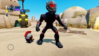 disney infinity 3 0 marvel battlegrounds ant man gameplay challenges toy box