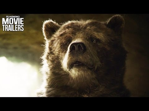 Mowgli meets Baloo in a NEW Clip from Disney's THE JUNGLE BOOK [HD]