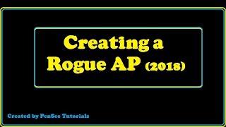 Erstellen eines Rogue AP (2018)